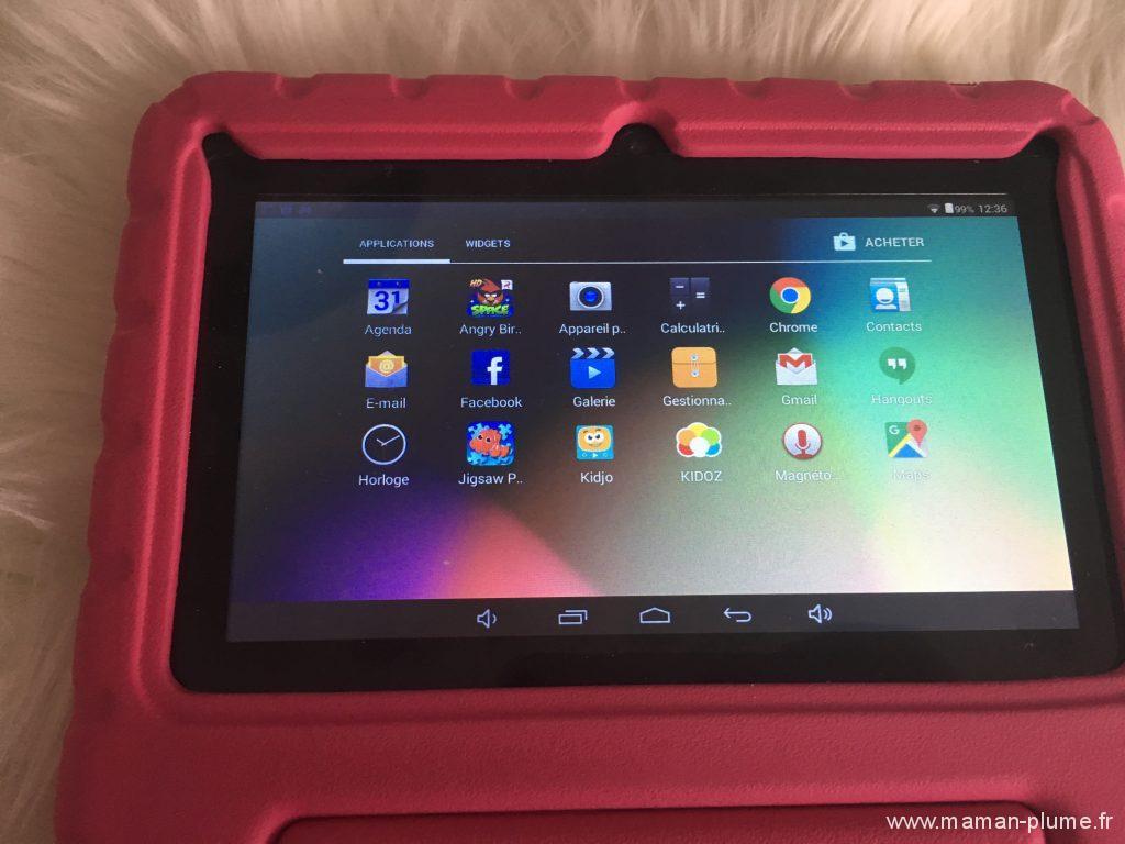 La tablette pour enfant Rotor