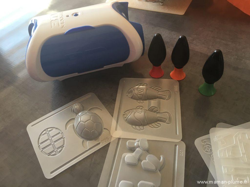 3D Maker, vos enfants réalisent des créations en 3D !