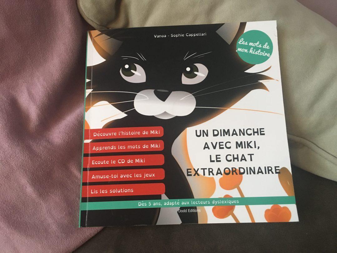 Livre CD Audio – Un Dimanche avec Miki, le chat extraordinaire