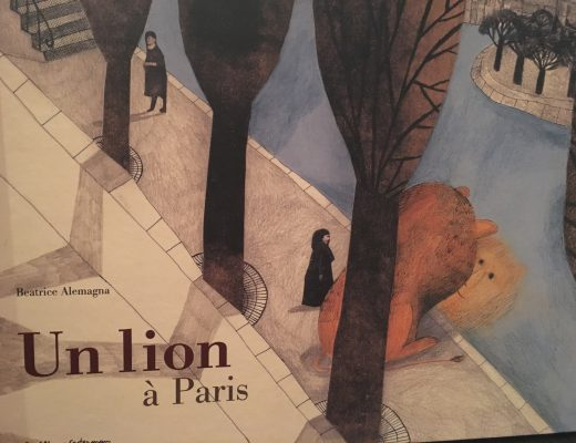 Un lion à Paris des Editions Casterman