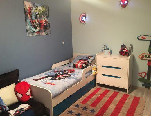 Les super héros ont envahi la chambre de mon fils