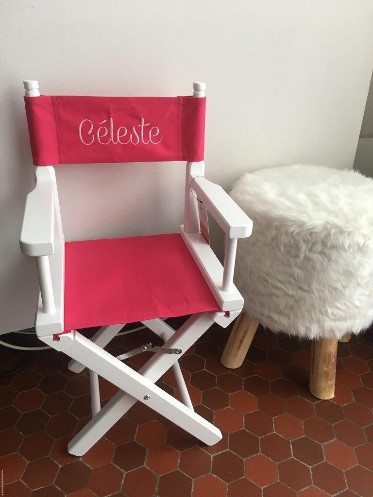 Ma petite chaise personnalisée