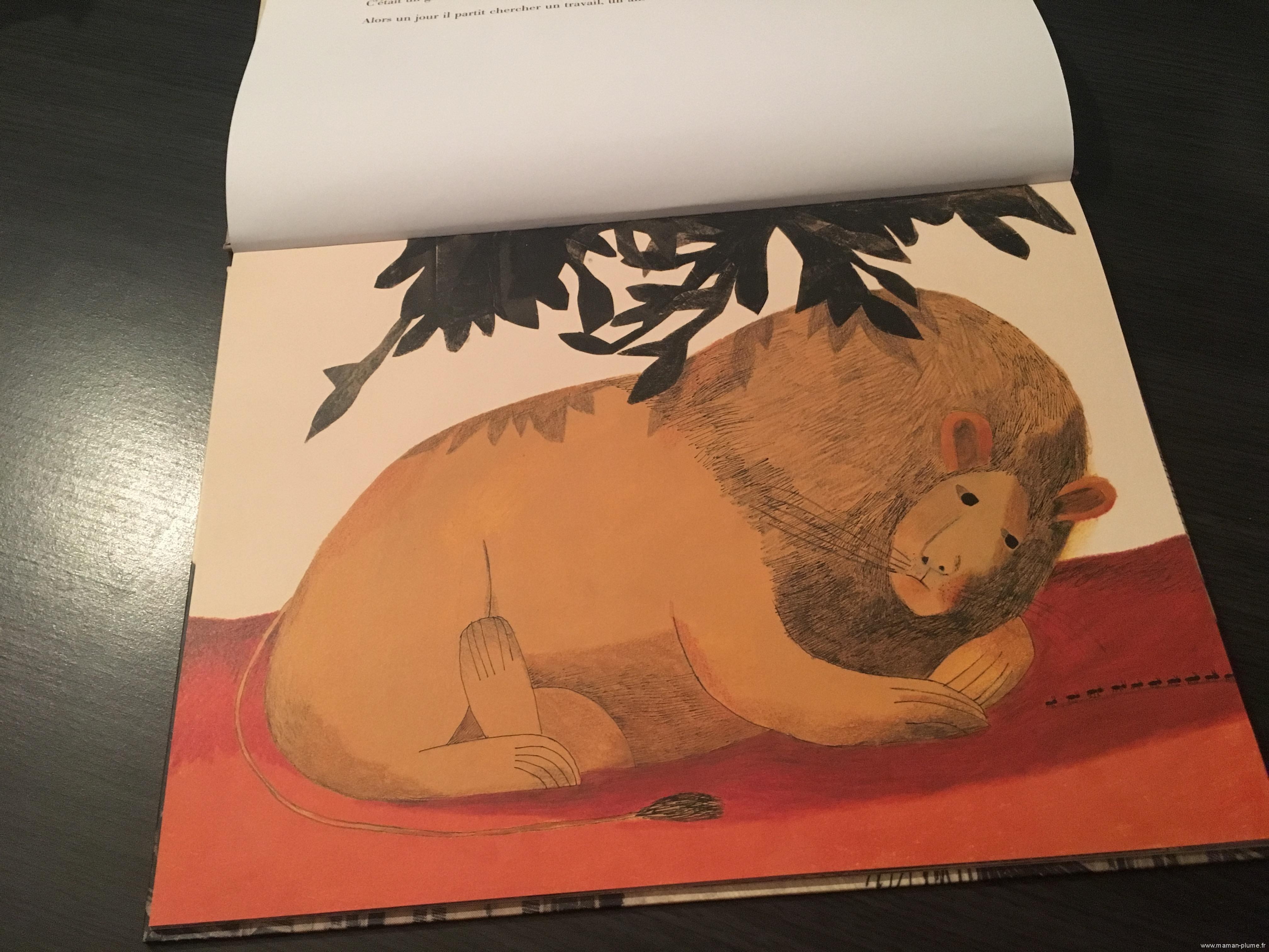 Un lion à Paris des Editions Casterman