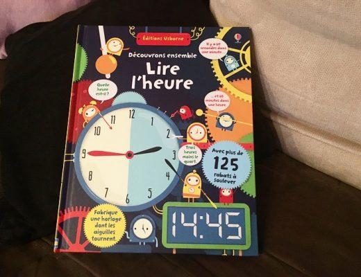 Lire l'heure des Editions Usborne
