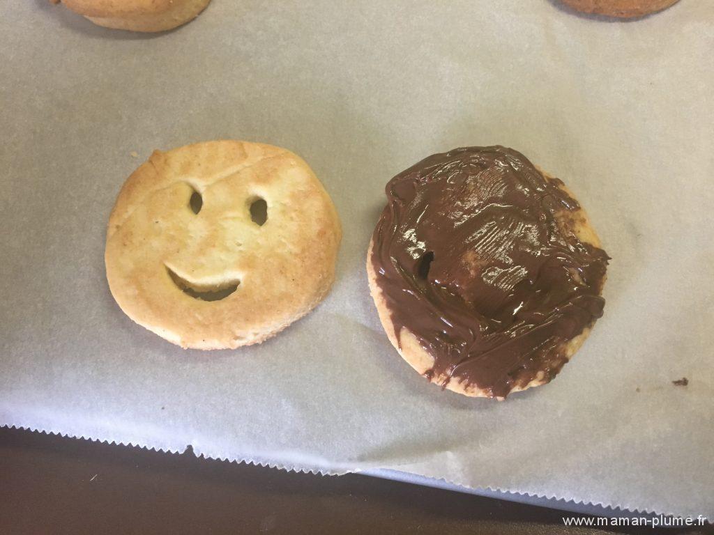 Mes biscuits Smile, la recette