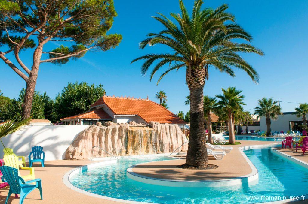 Cette été, direction le camping Les méditerranées