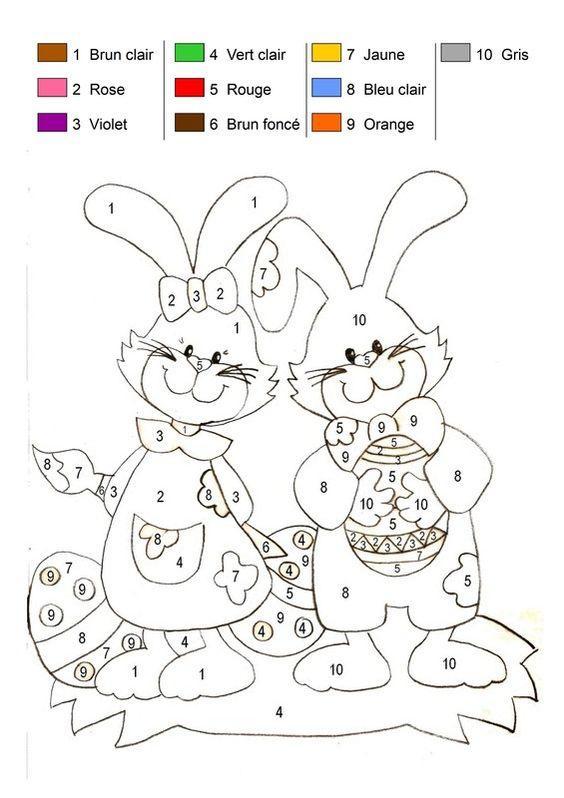 Ma sélection de Coloriages de Pâques