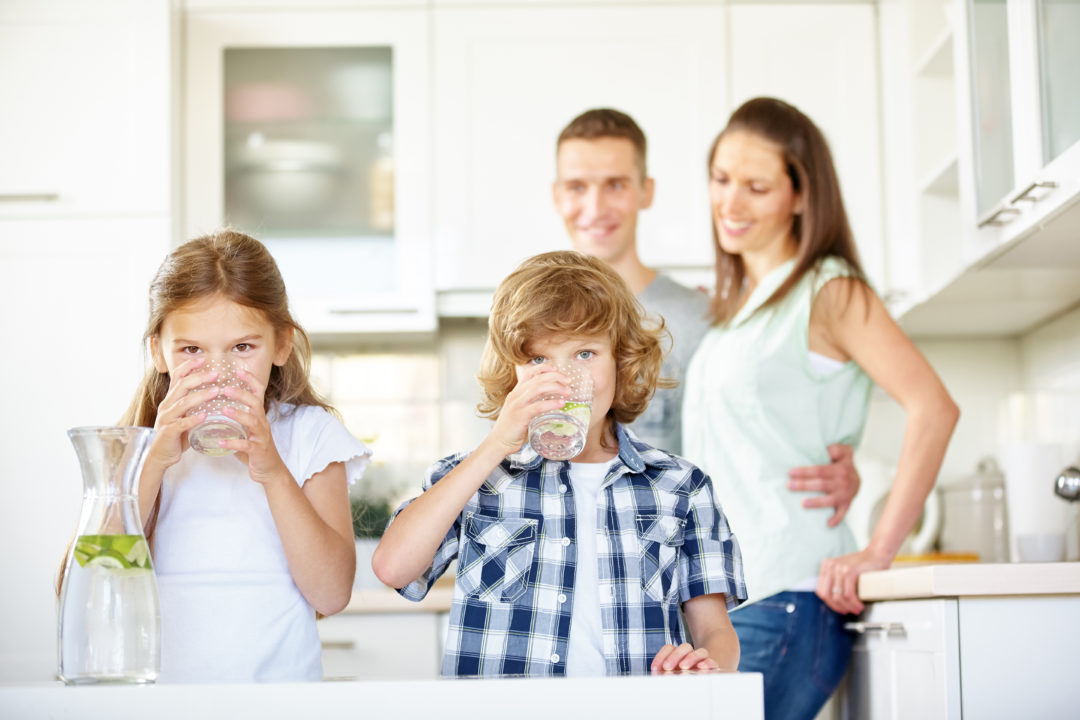 Mes enfants ne boivent pas assez d'eau