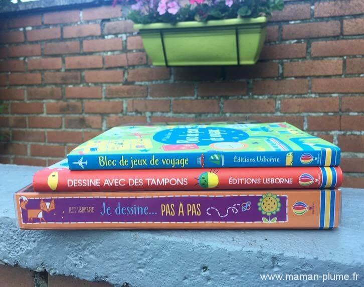 Ma sélection de livres jeux pour occuper M.Max en vacances
