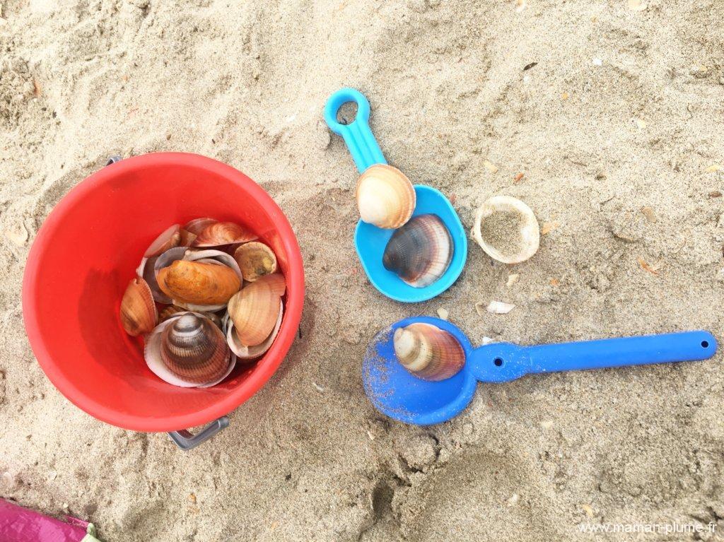 Great il nuy a jamais eu trop de monde cuest une plage for Coquillage piscine