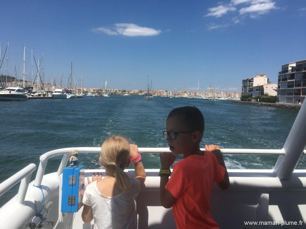 Vacances à Marseillan Plage avec des enfants