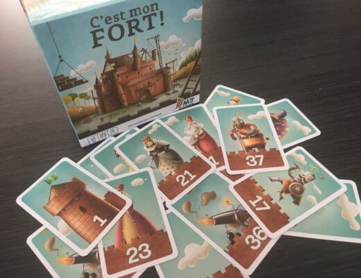 C'est mon Fort, un jeu simple et rigolo !