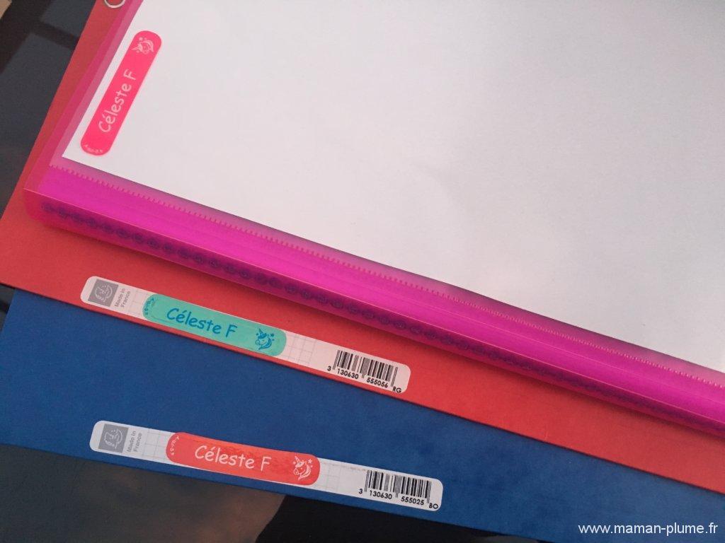 A-qui-s, les étiquettes personnalisables idéales pour les affaires des enfants !