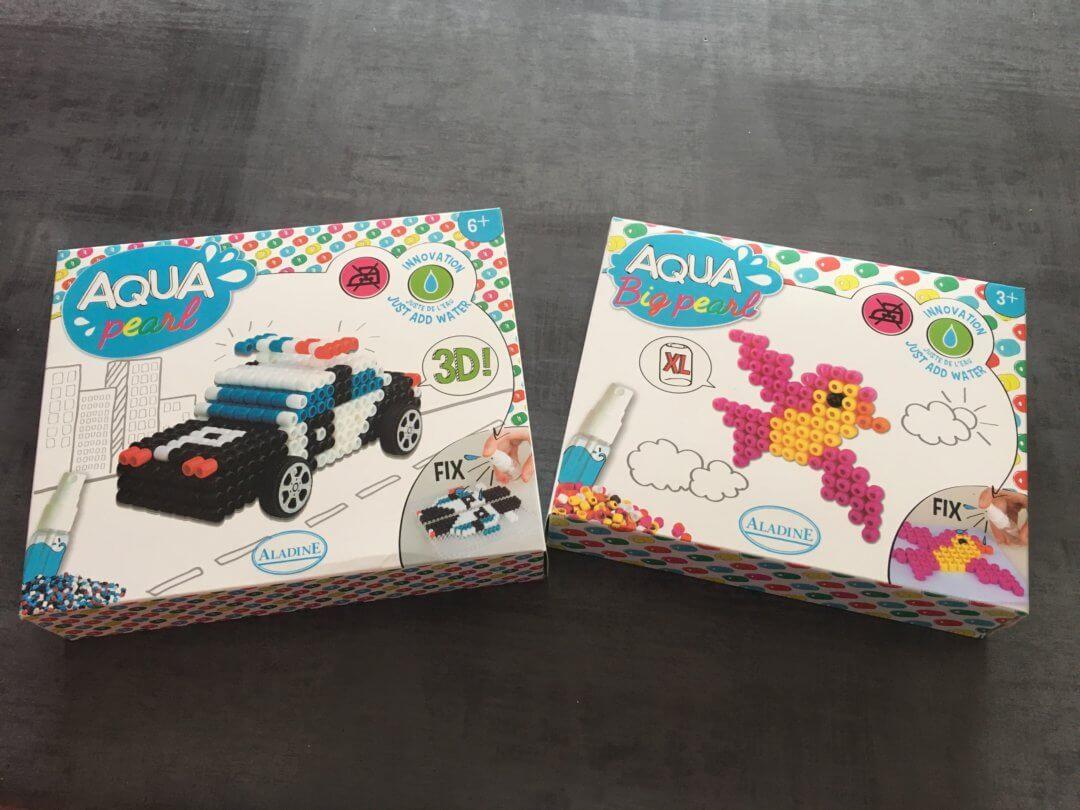 On découvre les Aqua Pearl 3D et Big Pearl Aladine
