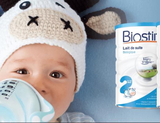 Le lait bio Biostime