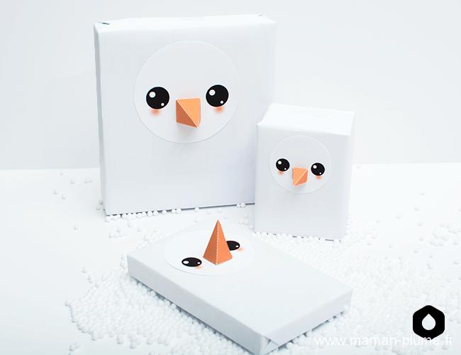 Les plus jolis paquets cadeaux pour noël !