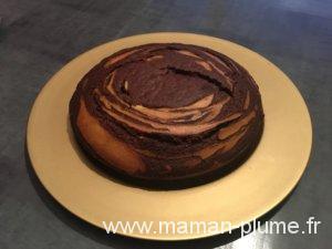 Recette de mon gâteau Zèbre !