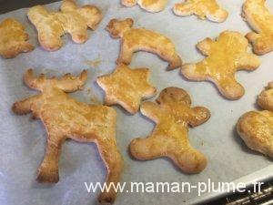 Les biscuits de noël !