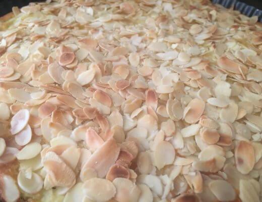 Recette moelleux aux amandes et pommes