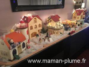Notre village de noël Sylvanian !