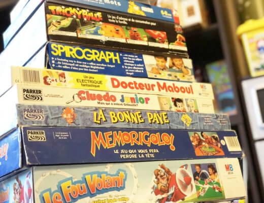 Les jeux de notre enfance !