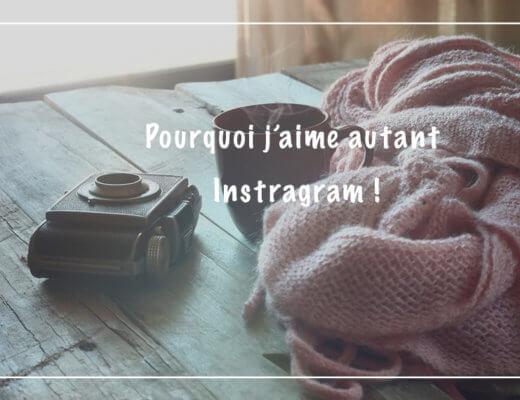 Pourquoi j'aime beaucoup instagram ?