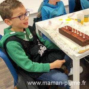 L'anniversaire de Max à Décathlon Campus