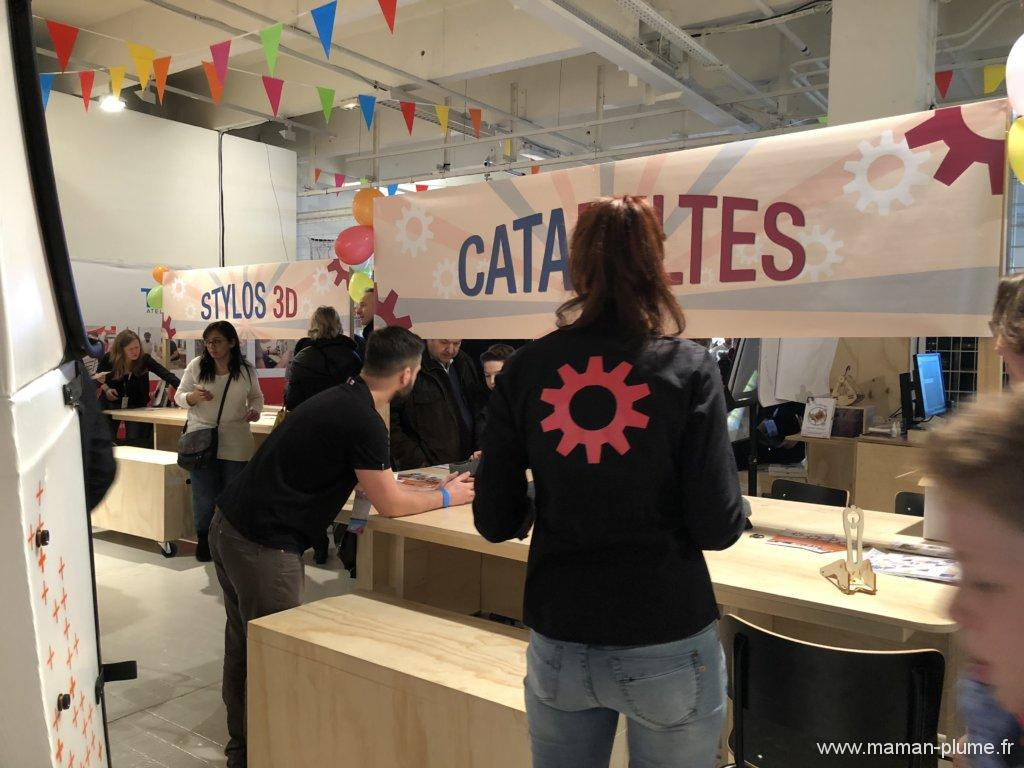 Notre matin e au maker faire lille avec dkids community for Atelier couture a lille