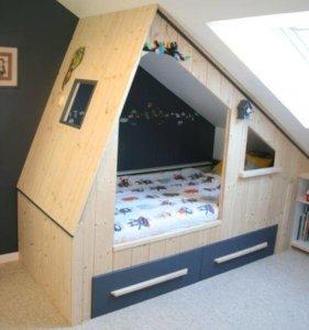 Idées Déco - Aménager une chambre d\'enfant sous les combles | Le ...