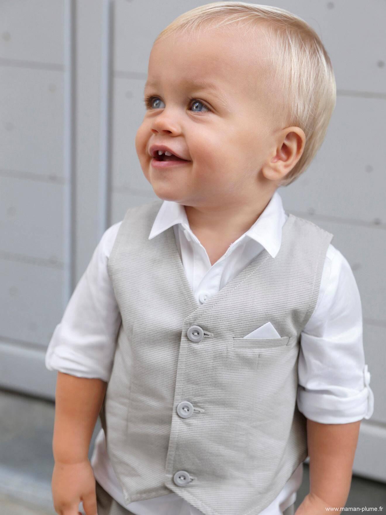 ensemble bebe garcon chemise gilet sans manches bermuda le blog de maman plume. Black Bedroom Furniture Sets. Home Design Ideas