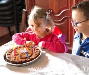 Un anniversaire à la ferme