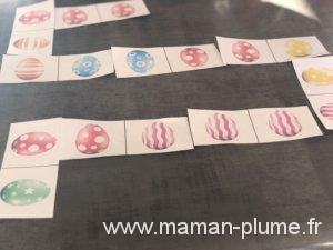 Mon domino de Pâques à imprimer en DIY !