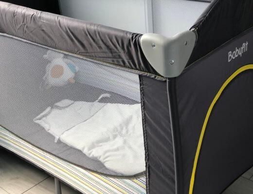 Le lit de bébé en vadrouille !