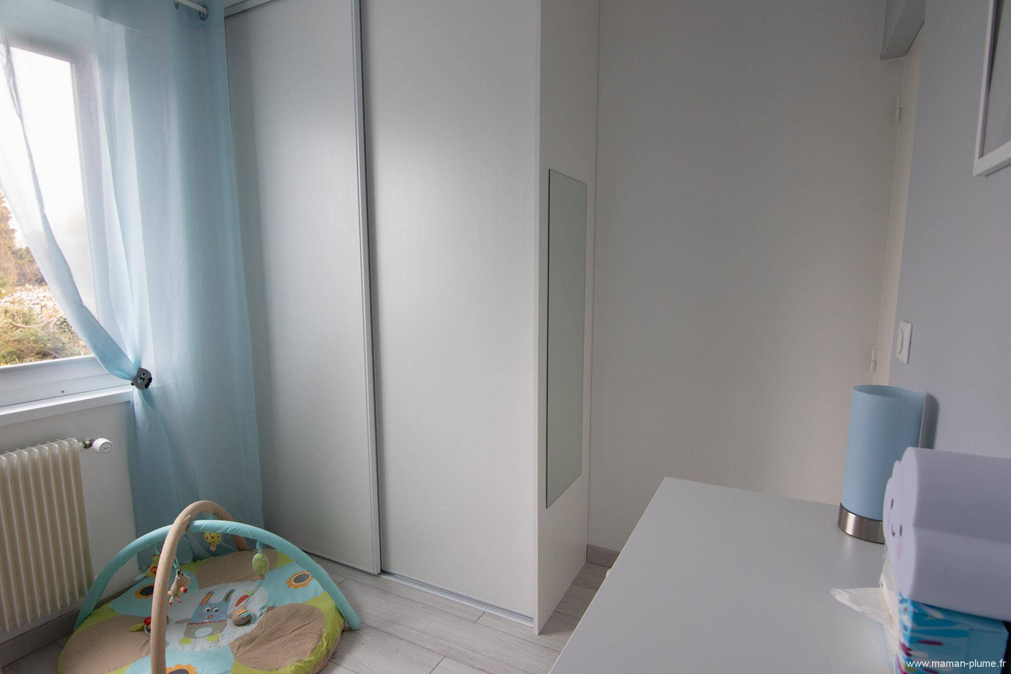 visite chambre b b gar on room tour tapis le blog de maman plume. Black Bedroom Furniture Sets. Home Design Ideas