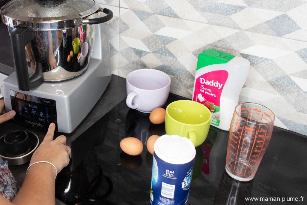 Mes petites chouquettes maison avec le Cook Expert de Magimix