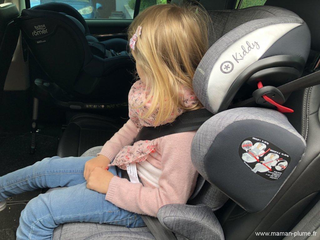 Ma fille en sécurité avec le Guardianfix 3