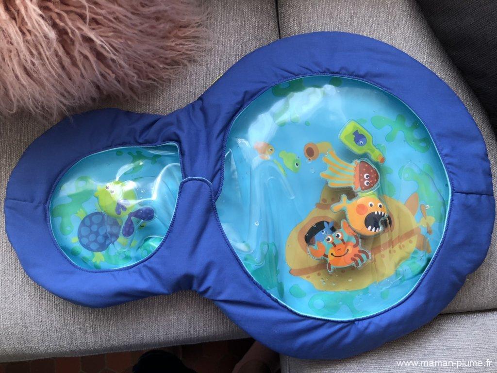 L'éveil Aquatique avec un tapis original