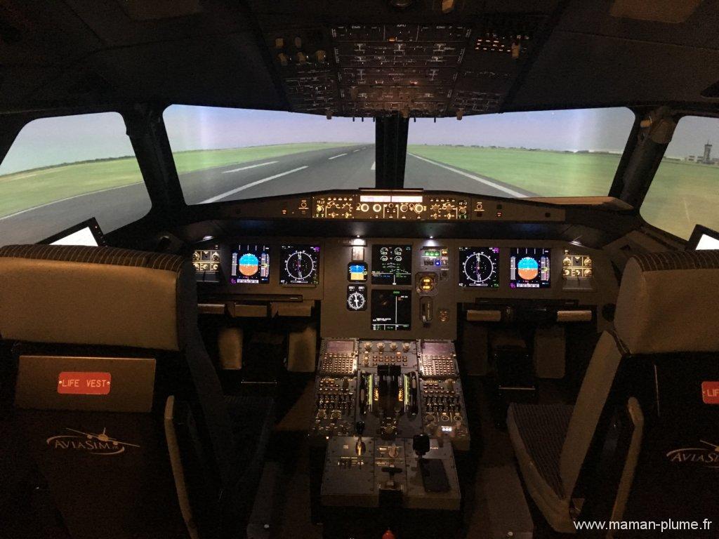 J'ai piloté un avion de ligne