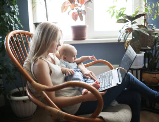 Travailler à la maison avec des enfants ce n'est pas si simple !