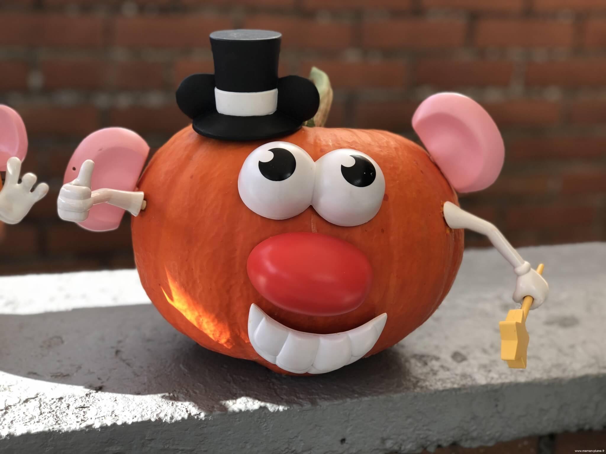 DIY Halloween, quand la patate devient citrouille !