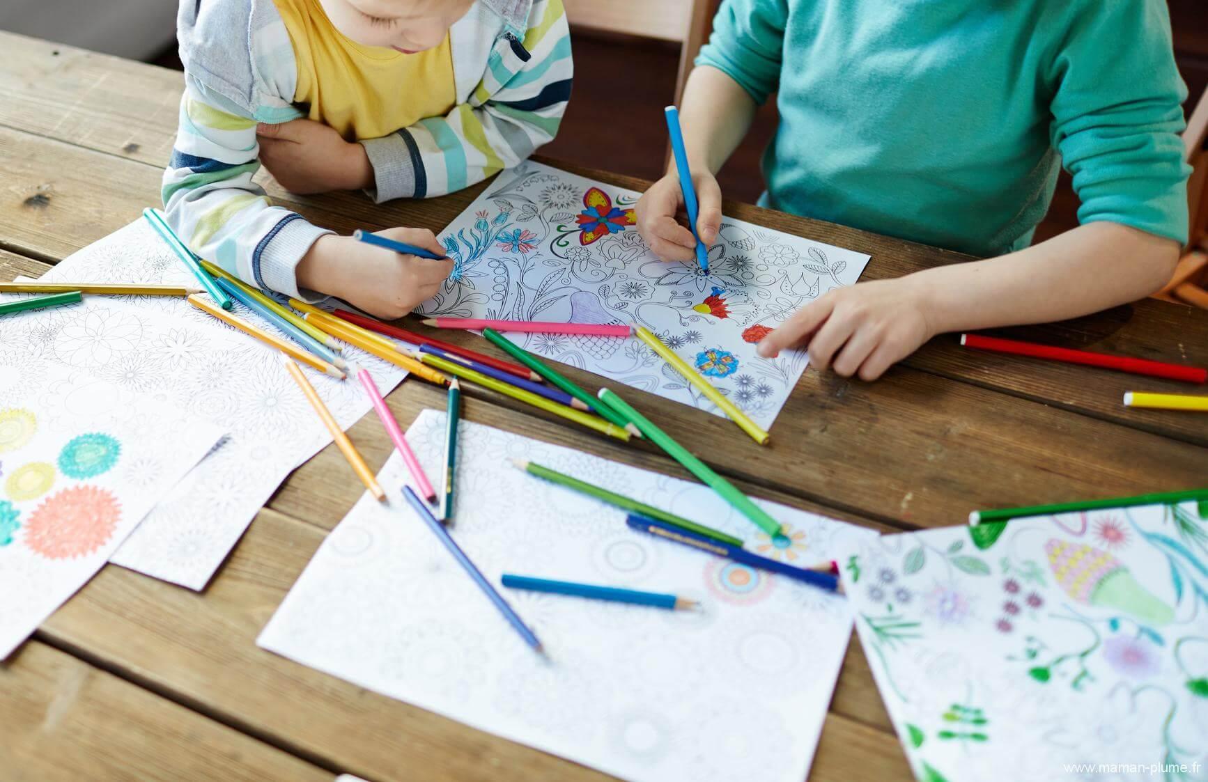 comment stocker et mettre en avant les dessins de vos enfants