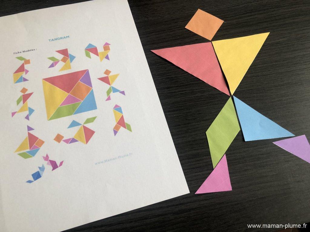 DIY, Mon jeu de Tangram à imprimer