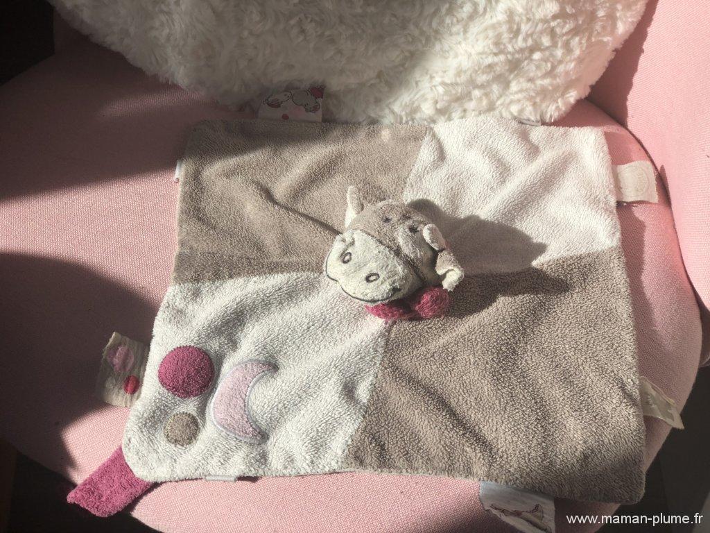 Les doudous à la maison…