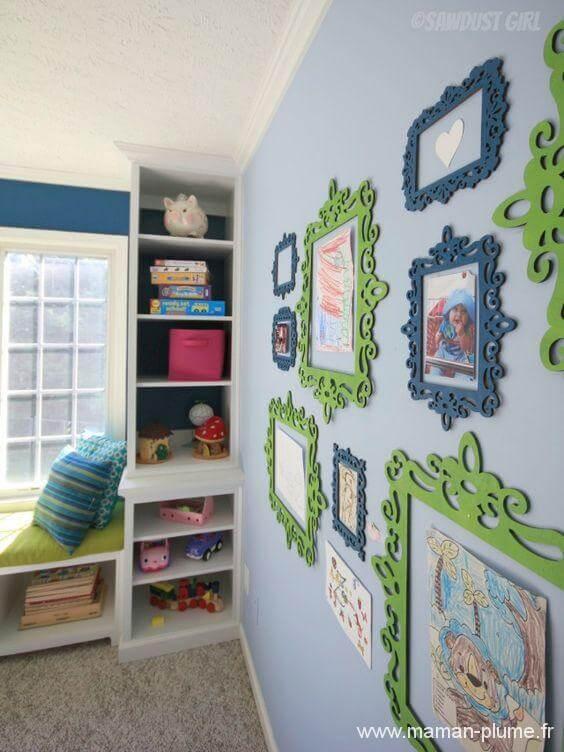 Comment stocker et mettre en avant les dessins de vos enfants !