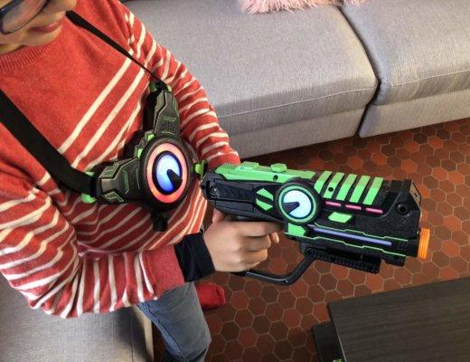 On a testé le Laser Game à la maison !