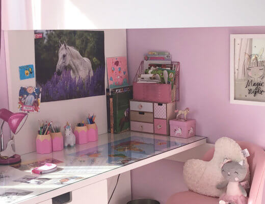 Room tour de la chambre Girly Poney de Miss CC !