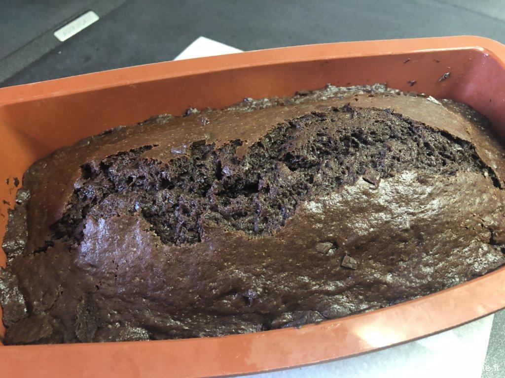 Mon cake au chocolat, la recette