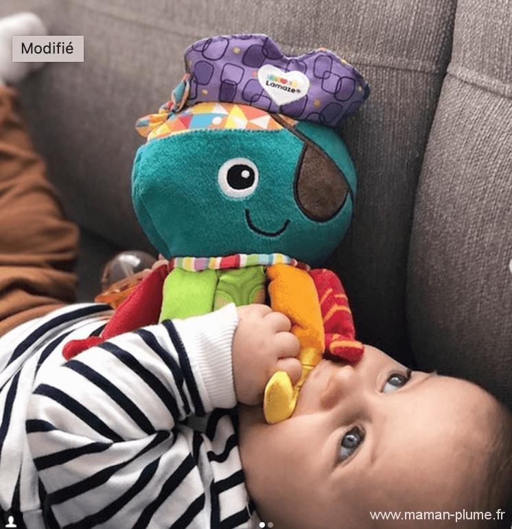 Les jouets préférés de bébé 0-6 mois