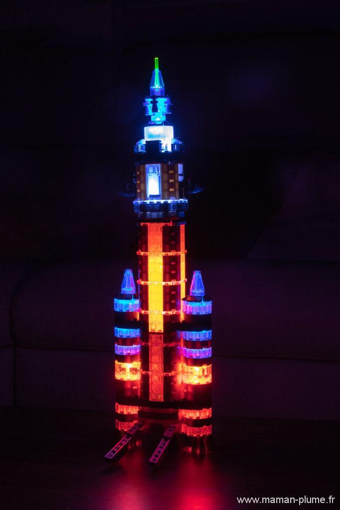 La fusée mission Mars de chez Laser Pegs