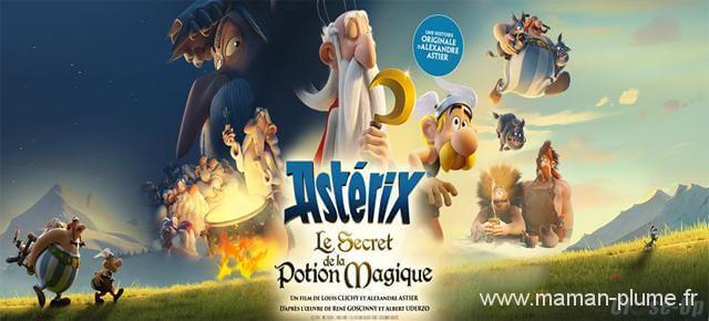 Sortie en famille voir Astérix Le Secret De La Potion Magique au cinéma !